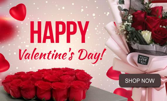 Valentine's Day Flowers | Malaysia Best Online Florist in Malaysia - Myflower.my